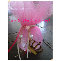 Souvenir Perfume Ropa! + Tarj Cumpleaños Princesa Esfera Pet