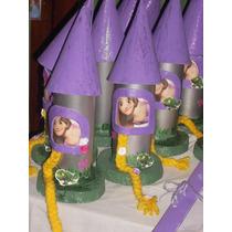 Souvenirs Rapunzel Golosinero Torre Cumpleaños Lanus