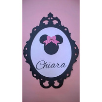 Mickey / Minnie / Cuadros / Tarjetas / Cotillon / Decoracion