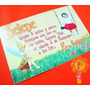 Tinkerbell Campanita Foto Invitaciones Tarjetas Cumpleaños