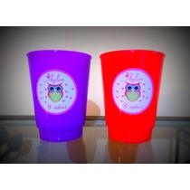 Vasos Plásticos Souvenirs Personalizados X 10 Unidades