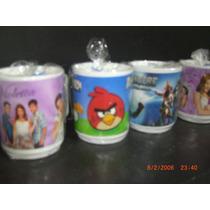 Tazas Violetta, Dra. Juguetes X 10 Unidades.souvenirs