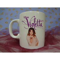 Tazas Violetta, Polymero, Souvenirs, Cumple, 15, Infantil