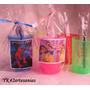 10 Souvenirs :cepillo Dientes + Vaso+figurita Infantil