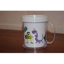 Lote 10 Tazas Monsters Inc Plastica Personalizada