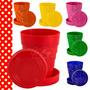 Vaso Telescopico Plegable Souvenir Infantil Colores X10u