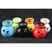 Hornitos Esencias Souvenirs Hornillos Ceramica Colores
