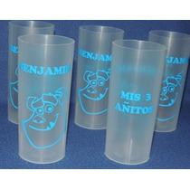 Vasos Plásticos Personalizados X 10 Unidades