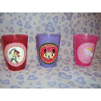 Vasos Plasticos Personalizados Souvenirs( Pack Por 10 Vasos)