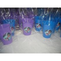 Vasos Plásticos Souvenirs-golosineros Personalizados X10