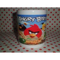 Souvenirs Tazas Personalizada Sublimadas Angry Birds