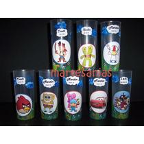 Vasos Personalizados Pintados Souvenirs Artesanales 10 Unid