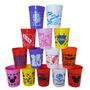 Vasos Plásticos Serigrafiados Irrompibles Pack X10 Souvenir