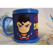 Taza De Plastico De Superman