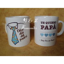 Souvenirs Tazas Personalizada Sublimadas Dia Del Padre