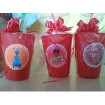 Souvenirs Vasos Cepillo Toalla Personalizados