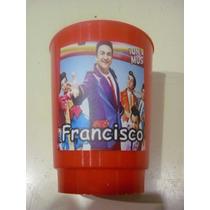 Vasos Plasticos Personalizados Topa Monorriel Lavables 10u