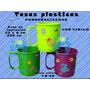 Tazas Plasticas -souvenirs Personalizadas Con Vinilo