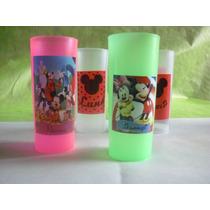 Vasos Plasticos Trago Largo Personalizados Souvenir 10u