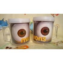Taza Acrilica De Los Minions Ojos