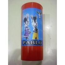 Vasos Plasticos Personalizados Zou La Cebra Lavables - 10