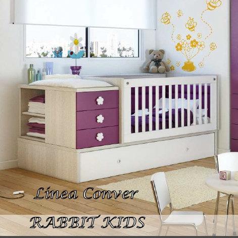 Cunas funcionales para beba imagui for Cuna para habitacion pequena