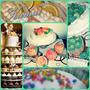 Torta & Cupcakes Decorados- Con Exhibidor