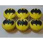 Cupcakes Souvenirs Personalizados Cumpleaños, Superheroes!!