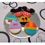 Mickey Y Sus Amigos Cookies/galletitas Tematicas!!! 6cm