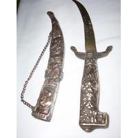 Cuchillo, Daga Antigua De Grecia Bronce