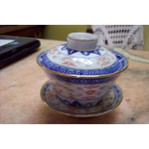 Antiguo Potich Porcelana China