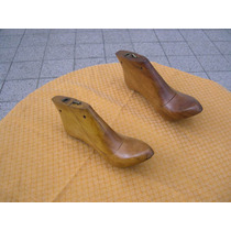 Hormas De Zapato De Madera Maciza Quebracho Blanco