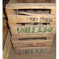 2 Cajones De Madera De Verduras - Valeria- Con Envio
