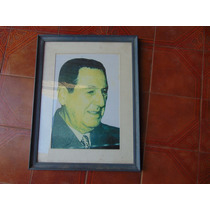 Antiguo Cuadro Del General Perón