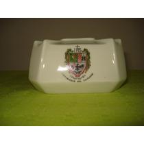 Antiguo Cenicero De Porcelana. Universidad De Salvador