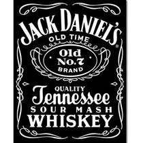 Cartel Antiguo En Chapa Gruesa 20x30cm Jack Daniels Dr-071