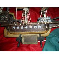 Barco Antiguo Replica De El Galeon De Sr Fransis Drake