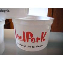 Italpark Lote 5tazas Plasticas Para Las Fichas Unicas..