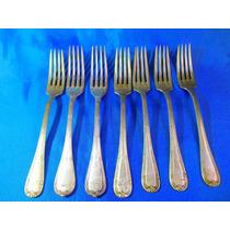 El Arcon Antiguo Juego 6 Tenedores Made In France + 1 25071