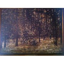 Cuadro Antiguo Pintor Firmado E.stammbach.año 1908.