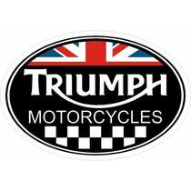 Carteles Antiguo Chapa Gruesa 60x40cm Moto Triumph Mot-278