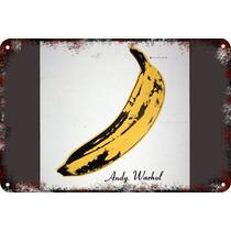 Carteles Antiguos Chapa 60x40cm Campbells Andy Warhol Al-015