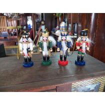 Antiguos Cascanueces Miniaturas De Colección Todo De Madera