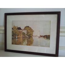 Cuadro Con Seriogradia Firmada Por Claude Monet 12