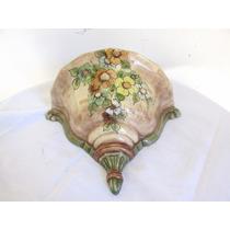 Antigua Rinconera De Porcelana Ordenador De Baño Cro De Mesa