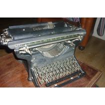 Maquina De Escribir Antigua Underwood - Deco O Vidriera