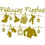 Vinilos Decorativos Vidrieras Navideñas Y Fin De Año
