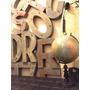 Letra Chapa Zinc Vintage Decor Letras Cartel Retro N Enlozad