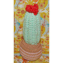 Cactus Artesanales Tejidos A Crochet