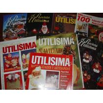Utilisima 12 Revistas Decoracion Y Manualidades, Lote